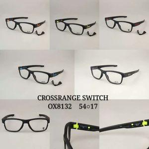 CROSSRANGE SWITCH OX8132 패션 선글라스 프레임 남성 여성을위한 최고의 품질 프레임 보호 안경 스포츠 안전 고글