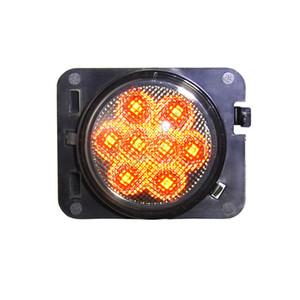20 çifti 4x4 ızgara tekerlek sinyal lambası evrensel offroad Wrangler Rubicon tekerlek ızgarası JK 07-15 LED Sinyal lambası kehribar lambası