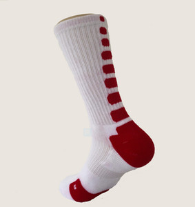 USA Professional New Elite Basketball Socks Long Knee Athletic Sport Socks Men Fashion Compression Thermal Winter Socks wholesales