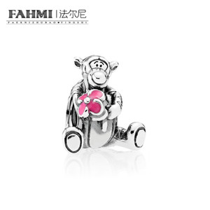 FAHMI 100% 925 Sterling Silver 1: 1 Originale 792135EN80 Authentic Temperament Fashion Glamour Retro Bead Wedding Monili Delle Donne