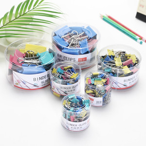 School Supplies Binder Clips 40pcs 19mm Cheap Clips for School and Office Deak Accessories Free Shipping