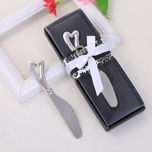 Hot Spread die Liebe Herz geformt Griff Butter Messer Chrom Käse Treuer Hochzeit Bridal Shower Gefälligkeiten