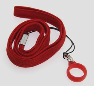 ecig Vape талреп для Коко Майл МТ Фикс vape ручка хлопок строка с силиконовым кольцом черный красный синий белый пользовательские печати логотип