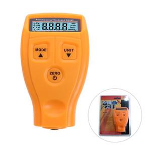 GM200 Pintura de Revestimento Espessura Medidor Tester Ultrasonic Filme Mini Pintura Do Carro Teste de Revestimento Medidor de Espessura Medição manual Russo