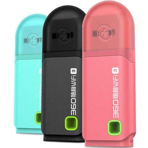 Original 360 Mini portátil Portátil WiFi 3 Enrutador de red inalámbrica Mejor precio 3 colores Rosa / Azul / Negro Enrutador Wi-Fi