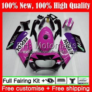 Corps Pour Aprilia RS4 RS125 99 00 01 02 03 04 05 RS-125 4MT10 RSV125 R RS 125 1999 2000 2001 2002 2003 2005 Carrosserie Repsol purple