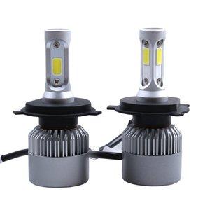 2Pcs LED Scheinwerfer 72W / kit 8000LM / kit H4 Abblendlicht H7 9005 9006 HB4 COB S2 Selbstautolicht alles in einer Automobillampe 6500K