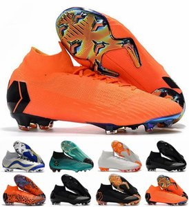 2018 Fußballschuh Socken ACC Mercurial Superfly VI 360 Elite FG Fußballschuh CR7 Cristiano Ronaldo Neymar JR Fußballschuh botas de fútbol