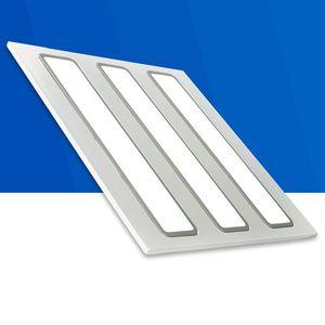 LED Ceilling 그릴 램프 600 * 600mm 300 * 600mm 48W 96W AC100-240V 110V 사각형 사각형 조명 알루미늄 합금 + 아크릴 직접 심천 중국