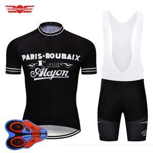 Crossrider 2018 Retro Cycling Jersey Set 자전거 의류 사이클링웨어 자전거 의류 Ropa Ciclismo Mens Short Maillot Culotte