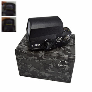 LCO Upgraded Red Dot Sight Hunting Scopes holographic Tactical Riflescope Fits Any 20mm Rail Mount Airsoft Gun