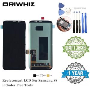 OLED-TFT für Samsung S8 S6edge Plus-J7 J1 ACE J110 LCD-Bildschirm Ersatz Anzeige Touch Screen Completed-Digitizer mit kostenlosen Tools