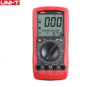 температура испытания UNI-T UT58B UT58A UT58C UT58D UT58E Цифровой мультиметр Амперметр Вольтметр Емкостной LCD AVO Meter Multitester