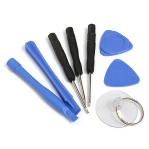 Reparing herramientas 8 en 1 reparación de la palanca de apertura Kit de Herramientas de Pentalobe Torx Destornillador para el iPhone 4 4S 5 5s 6 teléfono del moblie