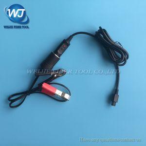 Fujikura FSM-50S / 60S / 61S / 62S / 80S fibra ottica Fusion Splicer 12V DC Cavo di ricarica per auto dcc-12
