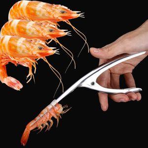 Descascador de camarão Camarão Descascador Dispositivo De Peel De Camarão faca de pesca Criativo Cozinha Gadget Cozinhar Ferramenta De Frutos Do Mar