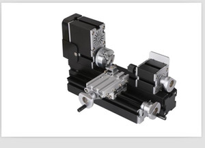 TZ20002MP DIY Metal Electroplated BigPower MiniLathe, 60W 12000r min Motor Mini Wood Lathe Torno Madera Toys For Children
