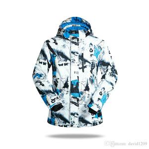 새로운 겨울 스키 자켓 정장 남자 실외 열 방수 스노우 보드 재킷 스노우 스키 의류 등산