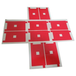 Red Backlight Sticker Film For iPhone 5G 5S 5C Back Sticker Refurbished Backlight Sticker Film 200pcs lot anti-static back light