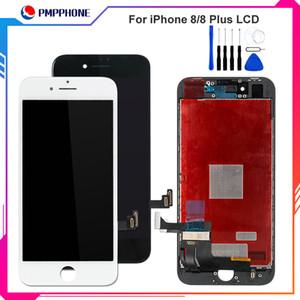 Tianma Qualität LCD-Anzeige für iphone 8 8 Plus LCD 3D-Noten-Digitizer kompletten Schirm mit Rahmen Vollversammlung Ersatz freiem Verschiffen