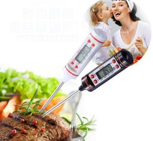 2018 Mini Et Termometre Mutfak Dijital Pişirme Gıda Probe Elektronik BARBEKÜ Pişirme Araçları Ev Termometreler SN032