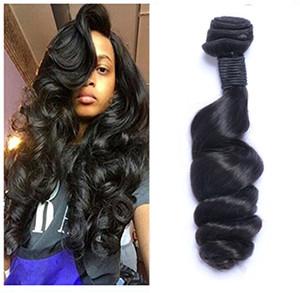 Malaisien Virgin Humain Hair vague Loose Curly Non transformé Remy Cheveux Teins Double Wefts 100g / Bundle Cheveux Wefts