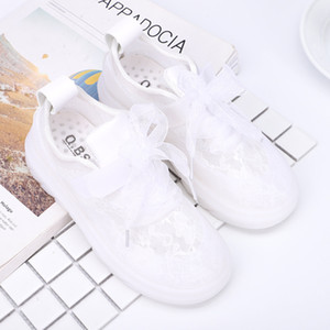 Kids Shoes Girls Fashion Children's Openwork Net Shoes Student Outsdoor Sports Shoes As The Popular Gift
