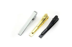 Sıska Tie Pins Clip Kravat Pin Erkek Kravat Klip Altın Gümüş İnce Camsı Kravat İş Takımları Aksesuarlar damla nakliye Barlar