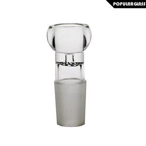 Saml vidro gratuito bebericando normais do sexo masculino bacia de vidro em bongos tabaco taças para cachimbo Herb Bacia 18,8 milímetros e 14,4 milímetros PG5075