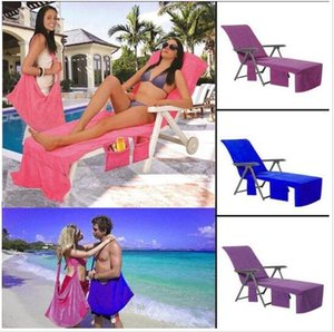 Swimming Towels Lounger Mate Beach Towel 73*210cm Microfiber Sunbath Lounger Bed Holiday Garden Beach Chair Cover Blanket