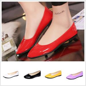 Frauen im Freien flache Stollen Schuhe Casual Slip On Round Toe Fashion Plus Size Hochzeit Brautjungfer Shose Fashion Neu
