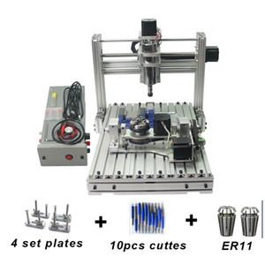 CNC 3040 metal DIY máquina de grabado cnc, 4 ejes CNC Router, PCB fresadora, marco de grabado