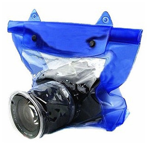 جديد المهنية كاميرا كيس ماء تحت الماء الغوص حقائب حماية المعطف التدقيق للكاميرات التبعي
