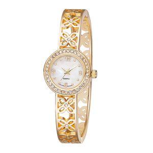 Alloy tendência relógio de moda relógio de senhoras bracelete de diamantes mulheres do coreano