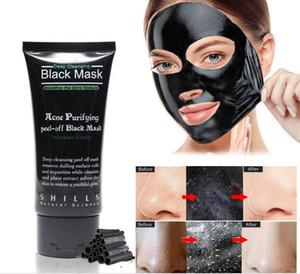SHILLS Tiefenreinigende schwarze Maske Porenreiniger 50ml reinigende Peel-off-Maske Mitesser Gesichtsmaske