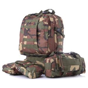Neue Camping Taschen Outdoo Molle Taktische Rucksack Rucksäcke Vintage Wandern Camouflage Wasserdicht Kostenloser Versand