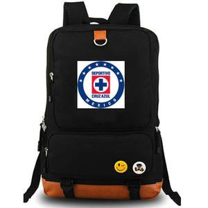 Cruz Azul sırt çantası AC Estadio gün paketi İyi Futbol kulübü okul çantası Futbol packsack Bilgisayar sırt çantası Spor schoolbag Açık sırt çantası