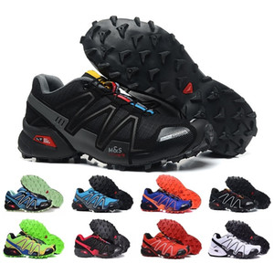 2018 Nuovo arriva Zapatillas Speedcross 3 Scarpe da corsa Walking Outdoor Speed ​​cross Sneakers sportive iii Escursioni atletiche Taglia 36-46
