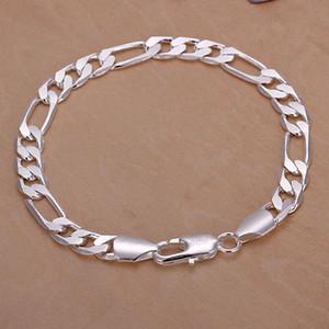 Fine Argent 925 Bracelet XMAS Nouveau Style 925 Argent breloque Bracelet Pour Hommes nouvelle Mode Bijoux À La Mode Belle Lien Italie Percing H200