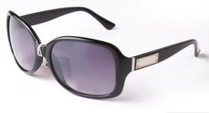 Gafas de sol de las mujeres de lujo Ronda de moda Ladies Vintage Retro diseñador de la marca de gran tamaño gafas de sol deporte femenino 2745