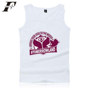 LUCKYFRIDAYF Tomorrowland Workout Tank Tops Hombre / mujeres camiseta de verano sin mangas Tank Top fitness culturismo chaleco más tamaño
