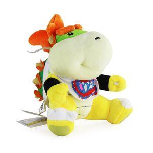 Super Mario Brothers Bowser JR jouets en peluche Poupée enfants en peluche 6inch nouveaux frères Bowser JR peluche douce 15cm jouet A-621