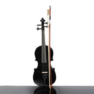 Musikinstrumente Schöne 1/2 Größe Acoustic Violin Case Bow Kolophonium Schwarz Farbe für Anfänger