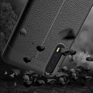 Litchis grains Texture souple TPU cas anti-choc en caoutchouc silicone pour Huawei P30 Lite P20 Maté 30 Pro 20 X Nova 5 5i Honor 9X Play 3 V20