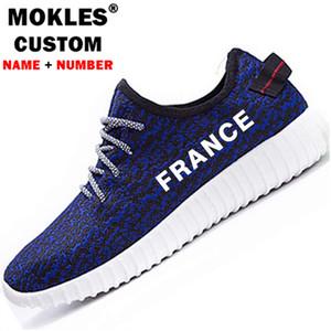Fransa erkek gençlik öğrenci ayakkabı diy ücretsiz ısmarlama isim numarası fra erkek rahat ayakkabılar ulus bayrak marianne fransız baskı fotoğraf çift ayakkabı