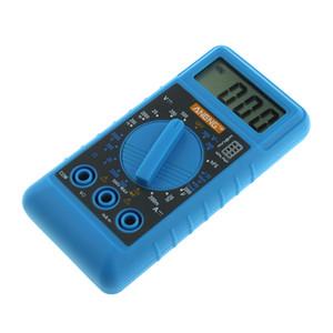 Portable Mini DMM Numérique Multimètres Mètre OHM Voltmètre Ampèremètre avec Buzzer Testeur Capacité de la Batterie Test Mètre 100x50x18mm