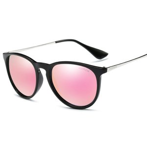 Óculos de sol coloridos homens e mulheres polarizados óculos de sol seguro condução anti-reflexo óculos de sol óculos de sol masculino óculos de sol UV400 6 cores
