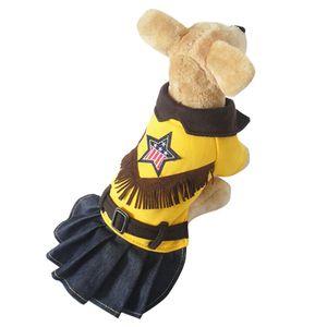 vente en gros vêtements pour chiens pour petits chiens produits pour animaux de compagnie vêtements pour animaux de compagnie chien veste hiver western cowboy amoureux animaux chien vêtements chaud