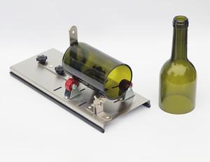 Herramientas de corte de la botella de vino de la cerveza del cortador de botella de cristal del acero inoxidable, herramientas de cristal