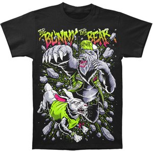 Bunny The Bear Männer Oh mein Gott T-Shirt Schwarz T-Shirt Geschenk Mehr Größe und Farben Top T-Shirt Marke T-Shirt Männer 2018 Mode